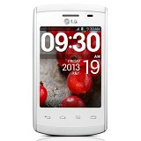 LG Optimus L1 Single II [E410] - White - Smart Phone Android